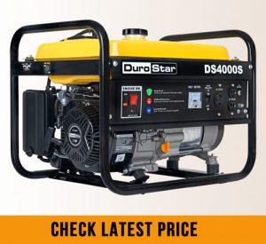 what size generator will run a sump pump